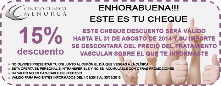 Promoción Tratamientos Vasculares