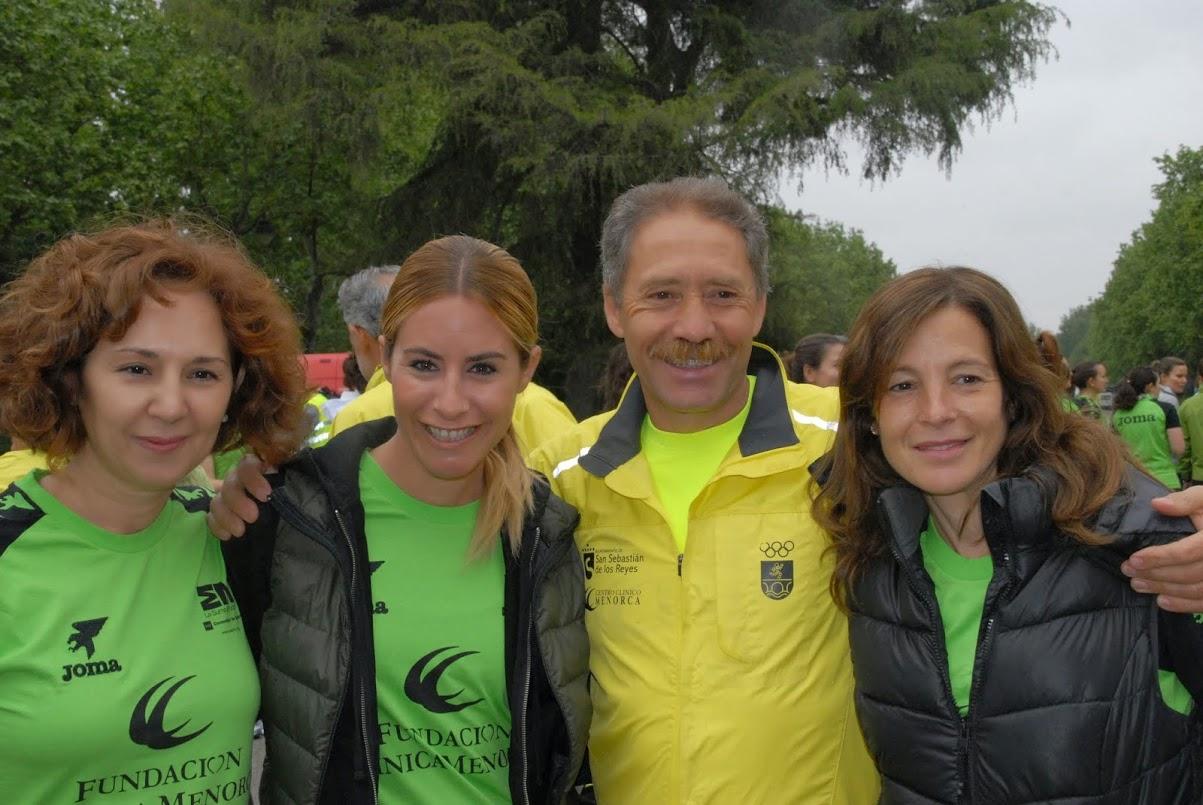 3º entrenamiento de la carrera de la mujer 2014