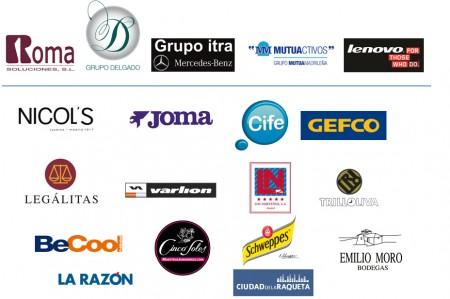 patrocinadores V torneo benéfico de pádel de la fundación clínica menorca