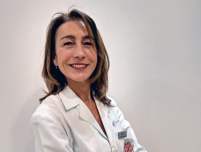 Dra. Cristina Lourguie Podologa