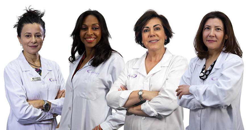Equipo de médicos de clínica menorca especializados en medicina estética