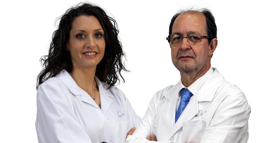 Doctores de clinica menorca angela de miguel y angel crespo