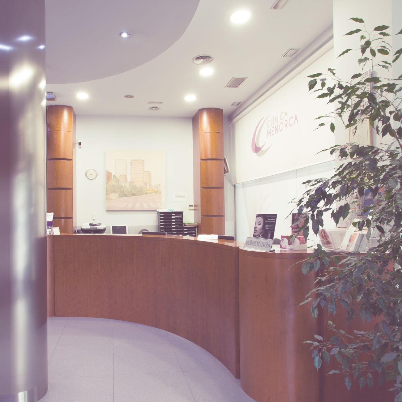 Instalaciones de Clínica Menorca en Madrid