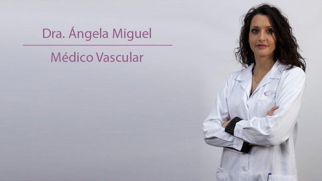 dra angela miguel medico vascular en Clínica Menorca
