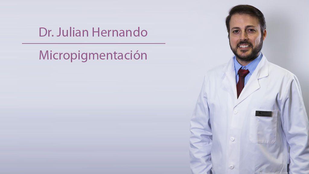 Dr. Julián Hernando en Clíncia Menorca