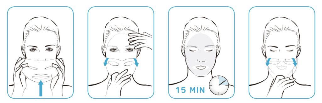 Cómo usar mascarilla de rejuvenecimiento facial