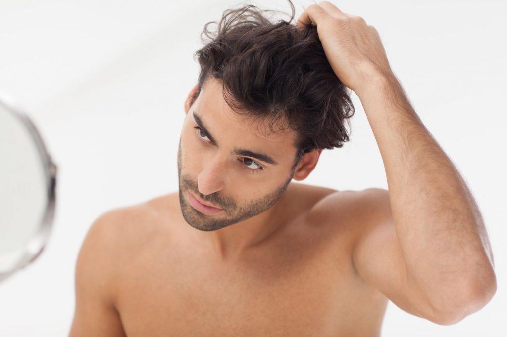 cuidado del cabello masculino