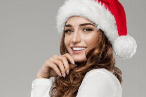 guapa en Navidad