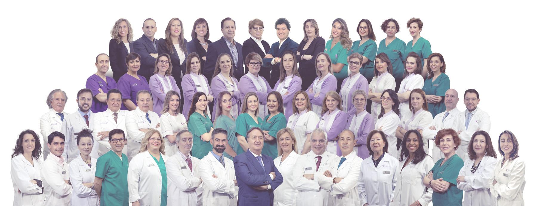 Equipo médico de Clínica Menorca