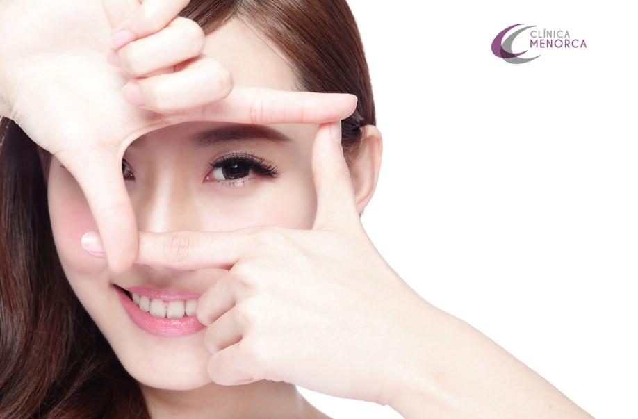 operación para agrandar los ojos