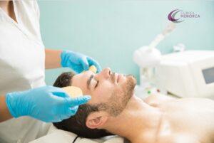 cuidado facial masculino